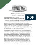 TBAC Refunding Statement - August 3 2015 - FINAL