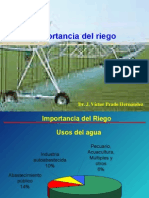 1 Importancia Del Riego