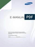 Manual - Samsung Ue40hu6905uxxe Led-tv