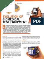Evolution of Biomedical Test Equipment