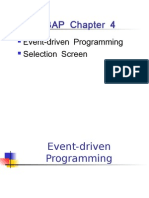 ABAP Event Driven Programming