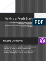 Presentation - Making a Fresh Start