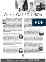 Oil and Gas Pollution