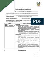 PLANEACION CIENCIAS NATURALES 5° MARCELA MAYE MUTHE