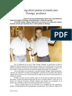 26.07.2014 Comunicado Texas Rising Abrirá Puertas Al Mundo Para Durango Productor