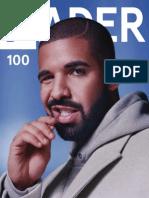THEFADER 100 Oct Nov2015 Drake Rihanna
