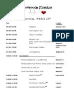 convention schedule final