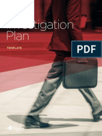 Investigation Plan Template