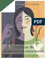 Técnicas de Autocontrol Emocional - Davis, Mckay y Eshelman