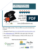CFSD Foundation
