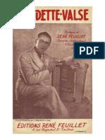 René Feuillet - Claudette Valse (Orchestration).pdf