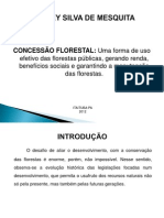 Concessão Florestal - Sidney
