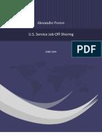 U.S. Service Job Off-Shoring