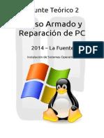 Instalación de Ubuntu y formateo de windows 7