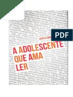 Adolescente Que Ama Ler - Jose Claudio Da Silva