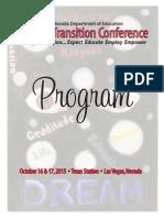 2015 transition conference program