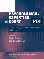 Psychlogical Expertise in Court