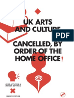 Uk Arts and Culture cAncelled, By Order
