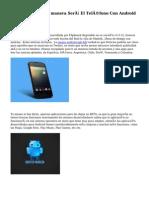 Desvelan De qué manera Será El Teléfono Con Android Nokia C1