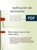 Clasificación de Aeronaves(Sapo)