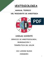 Temario Anestesiología Lozano Blesa 2-1