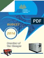 Zambia Budget 2016 - Taxation