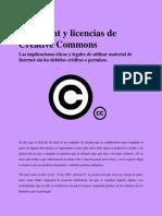 Las implicaciones éticas y legales de utilizar material de Internet sin los debidos créditos o permisos.