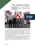03.06.2014 Comunicado Asegura Esteban a Trabajadoras Municipales