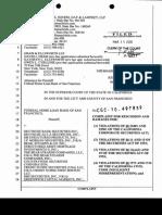 Federal Home Loan Bank of San Francisco v. Deutsche Bank Securities Inc. Et Al