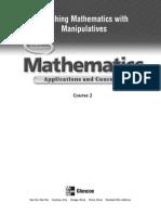 Teaching Mathematics With Manipulative