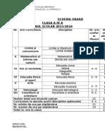 Schema Orara Cls 4