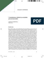 Comunitarismo Cultural en Sociedades Posconvencionales (Fondevila)