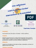 HUGO MARTIN ATOMICA CORDOBA SEMINARIO POLITICA NUCLEAR INTERNACIONAL