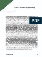 La Utopía Enre La Ética y La Política, Reconsideración (Gómez)