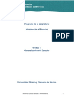U1. Generalidades Del Derecho_ Contenidos Nucleares