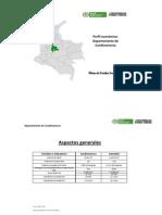 Perfil Departamento Cundinamarca, agroindustria cundinamarca