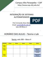 Aula 00 - Aula Inaugural de Integracao de Sistemas Automatizados