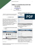 Informe Sobre La Configuracion de Elastix