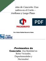 CONFERENCIA -CEMENTO PACASMAYO
