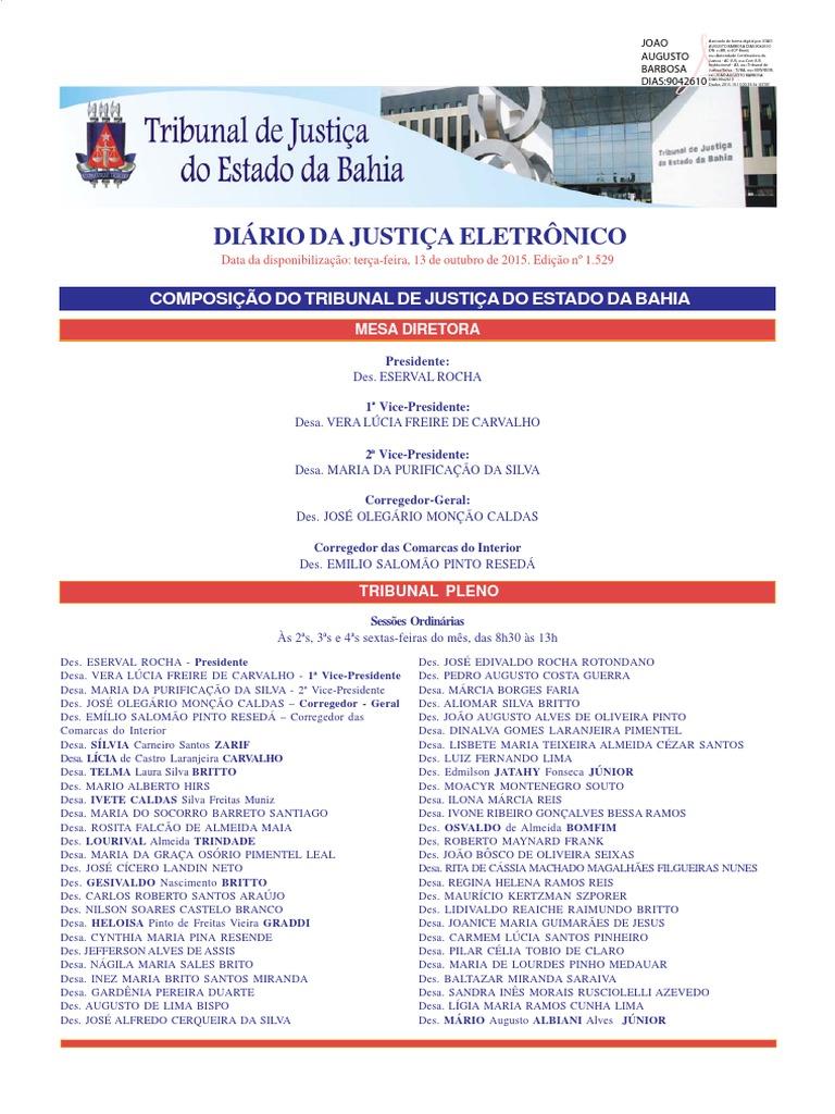 2df2296cbd195 Diario de justica da bahia