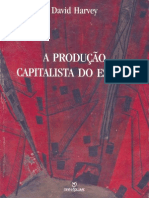 HARVEY, David a Producao Capitalista Do Espaco