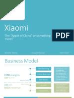 Xiaomi Case Study