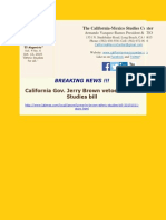 Breaking News Gov. Jerry Brown vetoes Ethnic Studies bill - CMSC Newsletter Vol. 4 No. 6 Oct. 13 2015.pdf