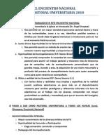 Conclusion Encuentro Nacional de Agentes Pu2010