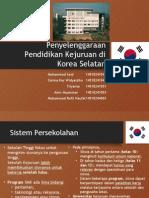 Penyelenggaraan Pendidikan Kejuruan Di Korea Selatan