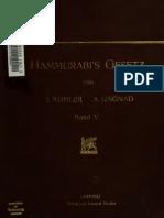 hammurabi's gesetz (5).kohler-ungnad.pdf