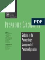 Premature Ejaculation
