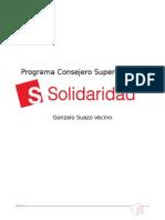 Programa Gonzalo Suazo Consejero Superior 2016