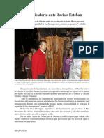 09.06.2014 Comunicado Municipio Alerta Ante Lluvias Esteban