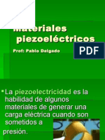 Materiales Piezoeléctricos